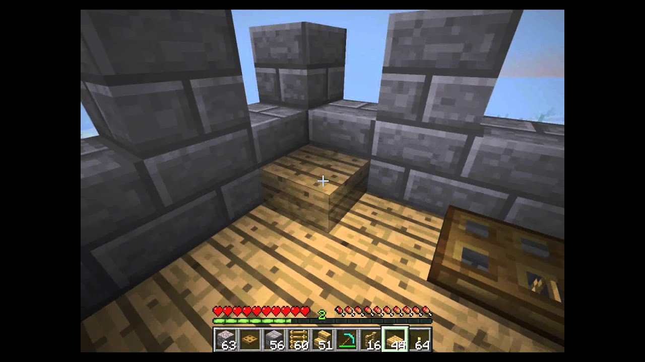Minecraft Spiral Tower Staircase : Minecraft how to construct a castle part spiral