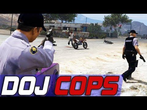 Dept. of Justice Cops #525 - Attempted Murder