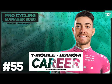 BENNETT VS. T-MOBILE - #55: T-Mobile - Bianchi Career // Pro Cycling Manager 2020 // #TheFallenGiant |