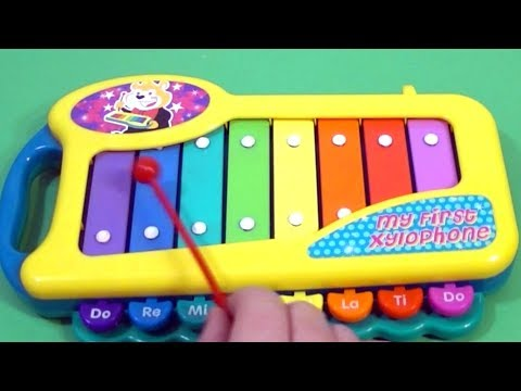 XYLOPHONE song Happy Birthday to you from Magic Ball For Learn song for toddlers