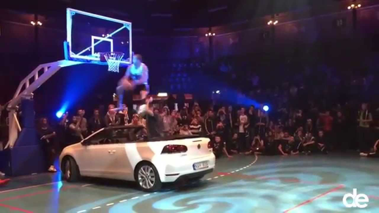 Amazing Dunk Over A Car Better Than Blake Griffin