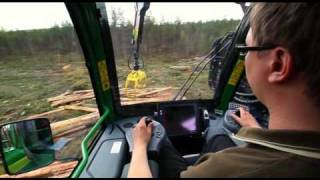 Repeat youtube video John Deere 1910E forwarder revolution