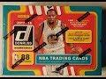 2018 Panini Donruss NBA Basketball trading cards. 1 autograph or mem.
