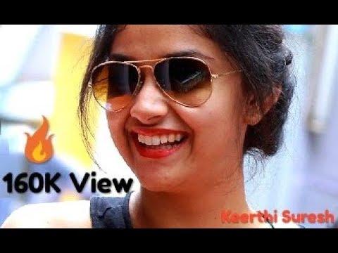 😍 Cute Keerthi Suresh 🔥 WhatsApp Status Video 2019 | Aankh Mare Keerthi Suresh 🔥 Status