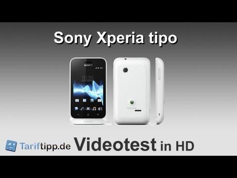 Sony Xperia tipo | Handytest in HD (deutsch)