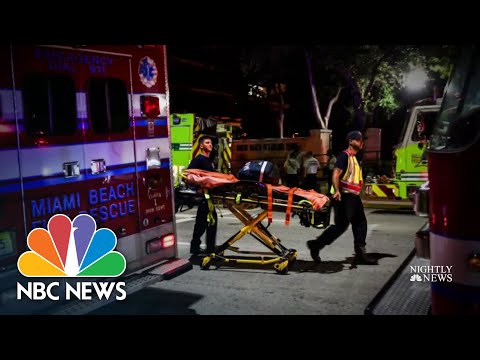First Responders' Bravery In Critical Moments of Florida Complex Collapse