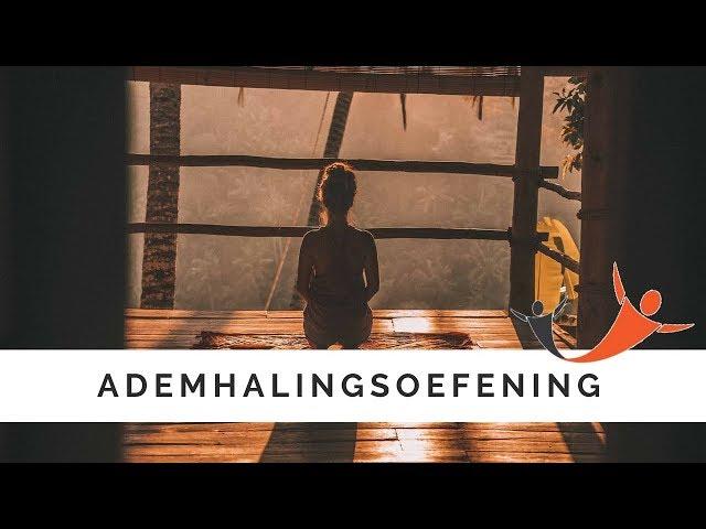 Ontspanningsoefening / ademhalingsoefening