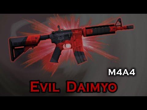 CS:GO - M4A4   Evil Daimyo Gameplay   Doovi