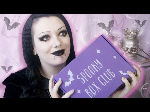 Spooky Box Club Season of the Witch Unboxing! | Toxic Tears
