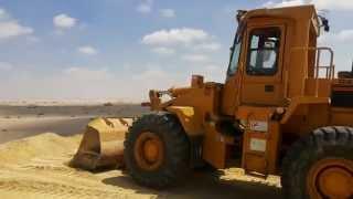 قناة السويس الجديدة :السحاب يعانق الصحراء وعرق العمال