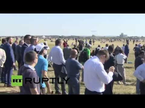 LIVE: MAKS-2015 International air show kicks off in Moscow region