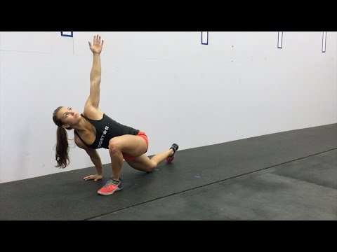 How to do a Lunge With Twist by Wodstar