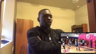 BRONNY JAMES JR 1st IN GAME DUNK!? Gets LeBron OUT OF HIS SEAT & Crowd GOES CRAZY!? Reaction