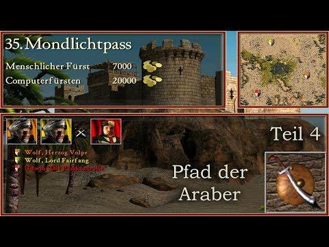 M35: Mondlichtpass - Teil 4 - Araber - Stronghold Crusader | Let's Play (German)