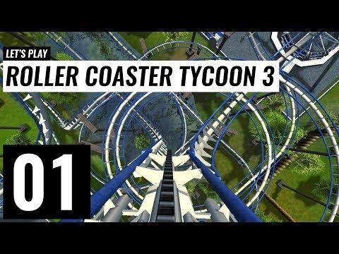 RollerCoaster Tycoon 3 Platinum - Game xây dựng công viên giải trí