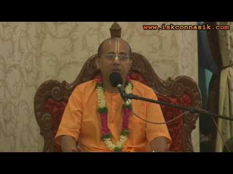 Gaura Purnima Evening Class By HG Vraja Bihari Prabhu on 12