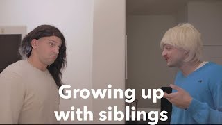 Growing up with siblings   PatD Lucky