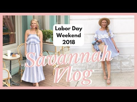 SAVANNAH GEORGIA TRAVEL VLOG: Long Weekend In Savannah, GA