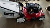279710fb937 Toro Lawn Mower Grass Bag Replacement  115-4673 - YouTube