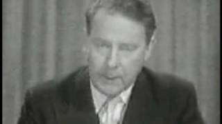 UK General Election 1959 - Labour Political Broadcast