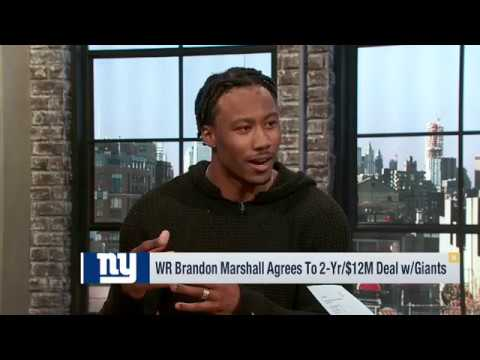 Brandon Marshall Joins Good Morning Football