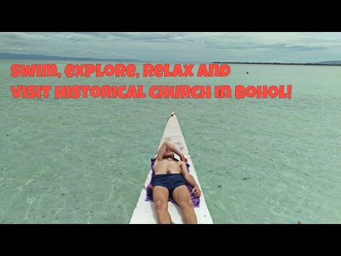 Baclayon church, snorkelling , Virgin island in Bohol | July 1st, 2016