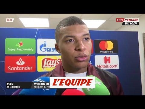 Mbappé «Il y a un travail à terminer» - Foot - C1 - PSG