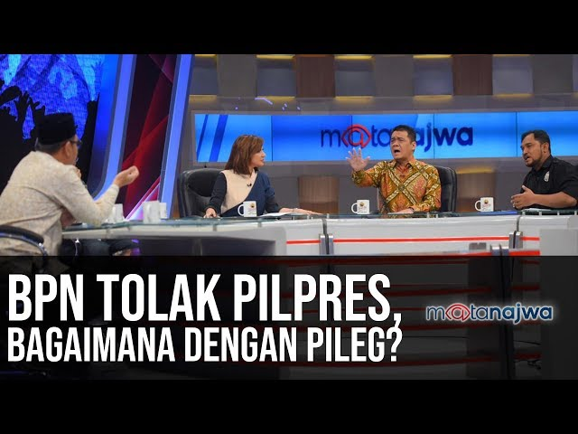 Adu Lantang Jelang Penentuan: BPN Tolak Pilpres, Bagaimana dengan Pileg? (Part 2) | Mata Najwa