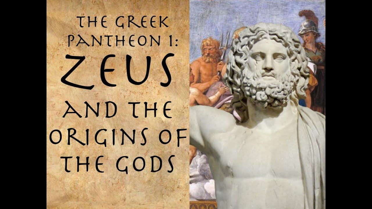 zeus and the origins of the gods youtube