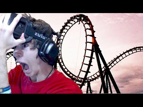MONTAGNE RUSSE ESTREME!!! (Vomitooo!) - Oculus Rift