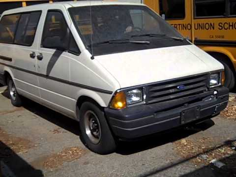 govdeals 1990 ford aerostar extended extended sports van