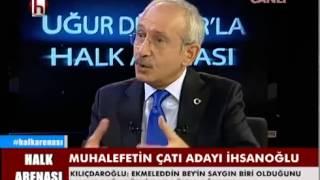 Halk Arenası - Kemal Kılıçdaroğlu 19 HAZİRAN 2014 (Halk TV)