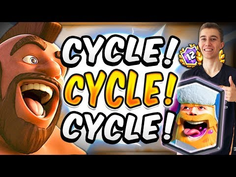 INSANELY FAST CYCLE! NEW META HOG RIDER! — Clash Royale
