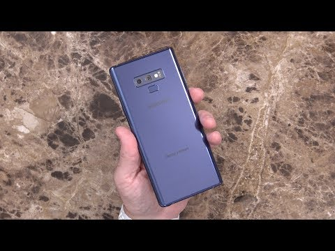 Samsung Galaxy Note 9 512Gb Model Unboxing and First Impressions... Is it Worth $1250??