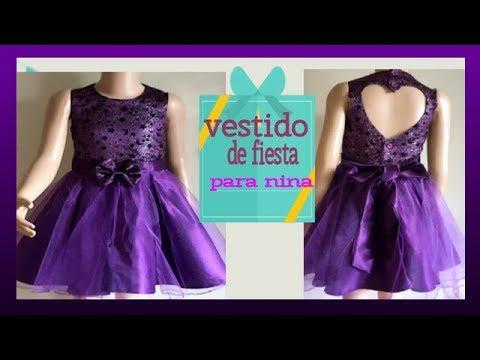Como Hacer Vestido Forrado Para Niñas