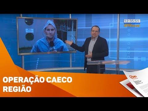 Operação da GAECO na região - TV SOROCABA/SBT
