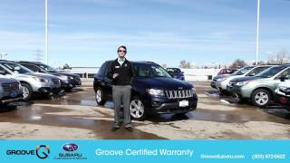 What is the Groove Certified Warranty?