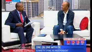 One-on-one with Nairobi Gubernatorial candidate Peter Kenneth
