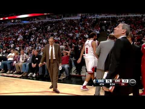 Reggie Miller Comments On Carlos Boozer's Defense - Thunder @ Bulls 11/8/2012