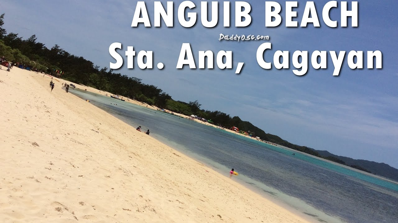 Anguib Beach Sta  Ana, Cagayan