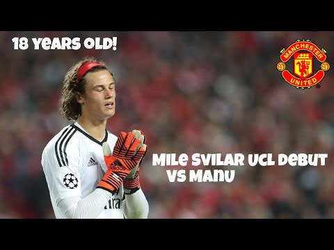 • Mile Svilar •         UCL Debut against Manchester United. Only 18 years old! (English Commentary)