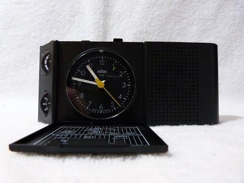 "1990 Braun model ""ABR 313 SL"" FM clock radio (made in Germany)"