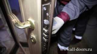 Металлические двери, от