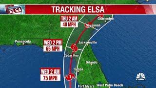 Tropical Storm Elsa expected to make landfall as a hurricane