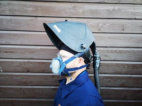 Półmaska Ochronna Dla Spawacza, BHP, Elipse Half Mask, GVS, Safty First, PPE For Welders