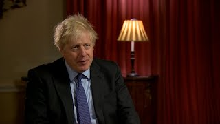 video: Boris Johnson confident Donald Trump will make 'strong recovery' after president contracts Covid
