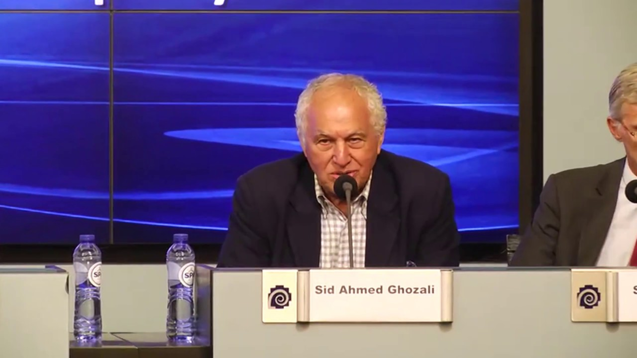 Speech by Sid Ahmed Ghozali at Brussels Press Conference on Iran regime's Terrorism