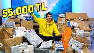 BU SEFER 55.000 TL Toplu Paket Açılışı!