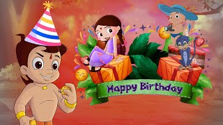 Chhota Bheem's Birthday Special Video | The Crazy Adventure | Cartoons for Kids in Hindi