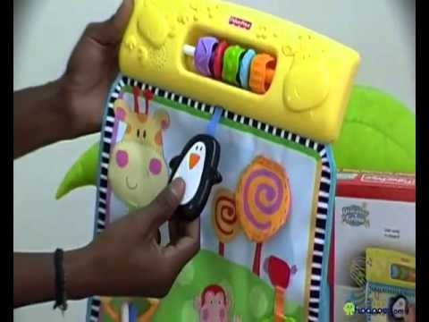 Fisher Price Musical Activity Play Wall W3131